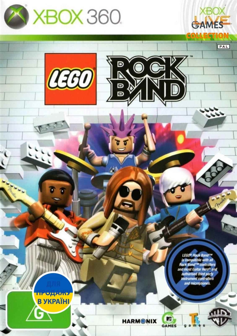 LEGO: Rock Band (XBOX360)-thumb