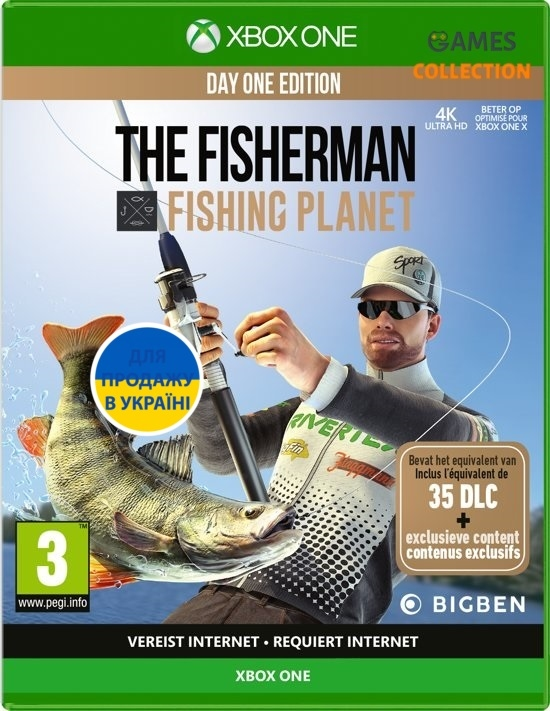 The Fisherman: Fishing Planet (Day One Edition) (XBox One)-thumb