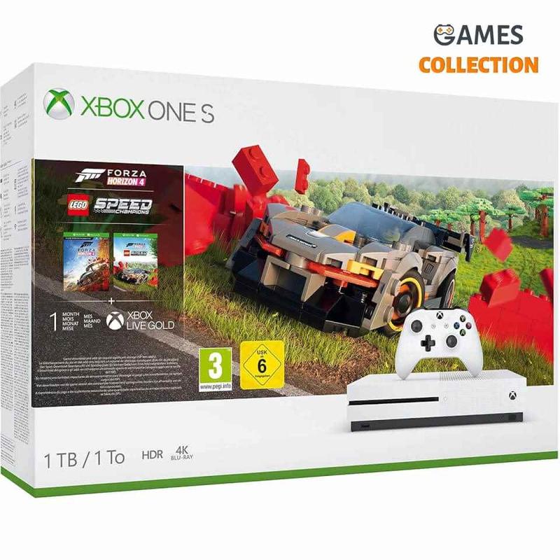 Xbox One S 1TB & Forza Horizon 4 + LEGO Speed Bundle-thumb