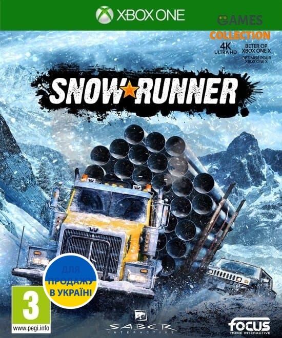 Snow Runner (XBox One)-thumb