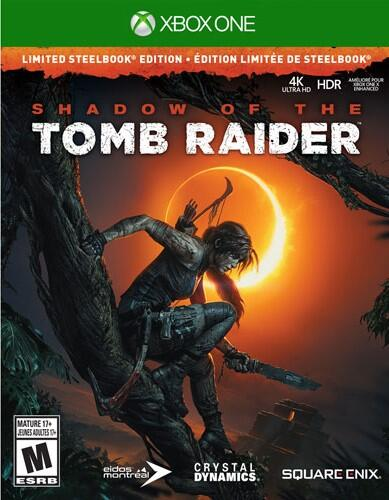 Shadow of the Tomb Raider – Limited Steelbook Edition (Xbox One)-thumb