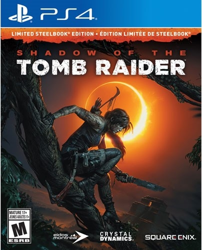 Shadow of the Tomb Raider – Limited Steelbook Edition (PS4)-thumb
