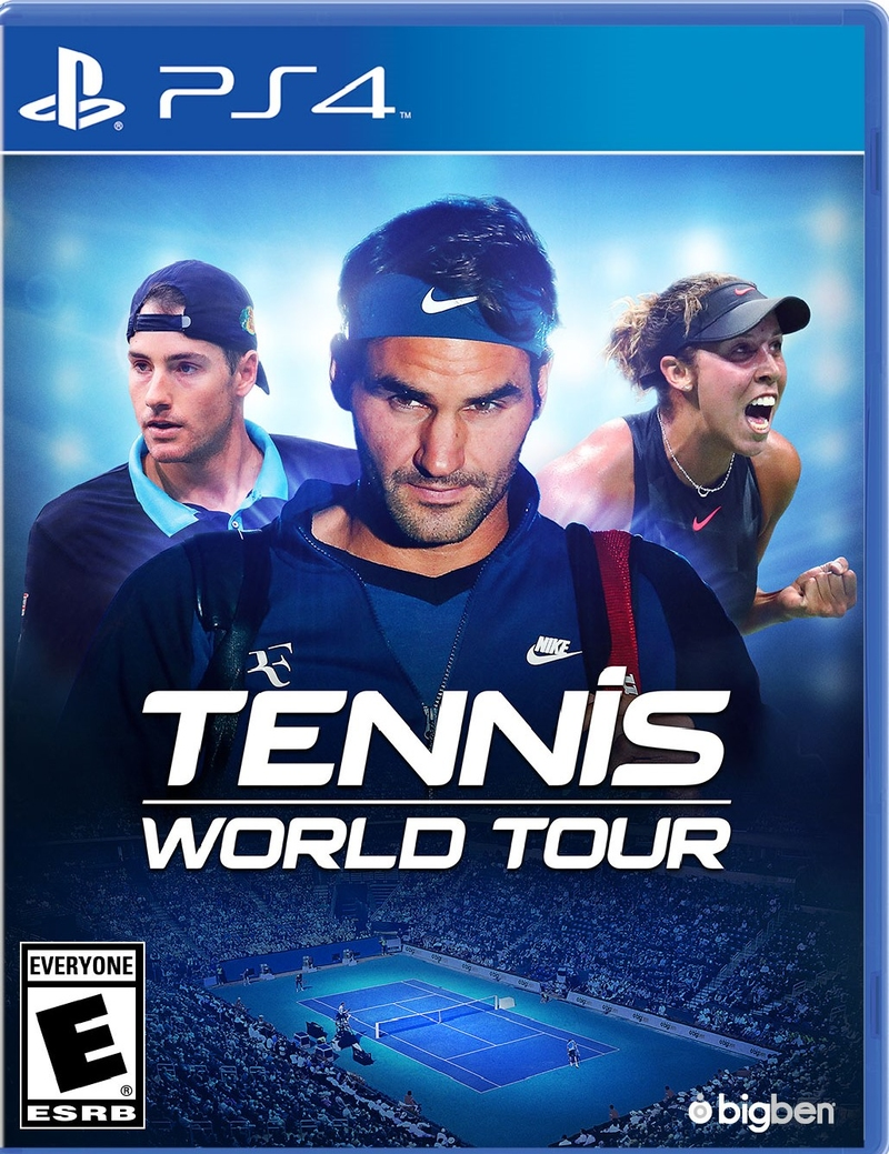 Tennis World Tour (PS4)-thumb