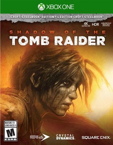 Shadow of the Tomb Raider: Croft SteelBook Edition (Xbox One)-thumb