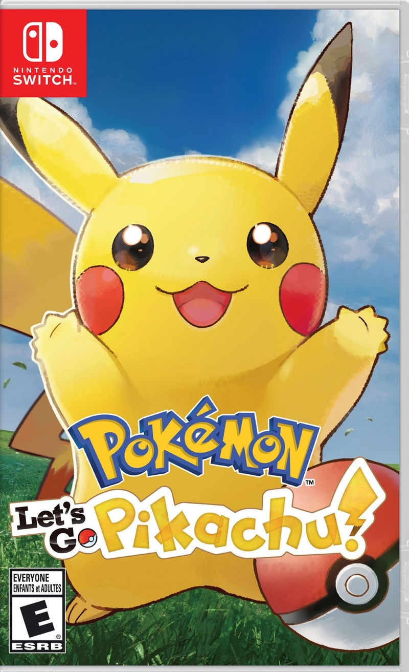 Pokemon Let's Go, Pikachu! (Switch)-thumb