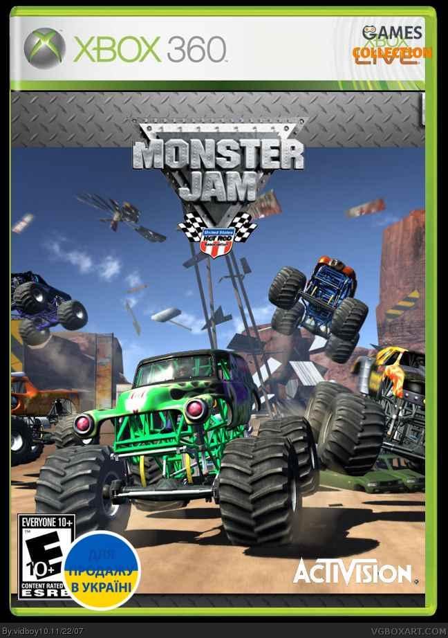 Monster Jam (XBOX360) Б/у-thumb