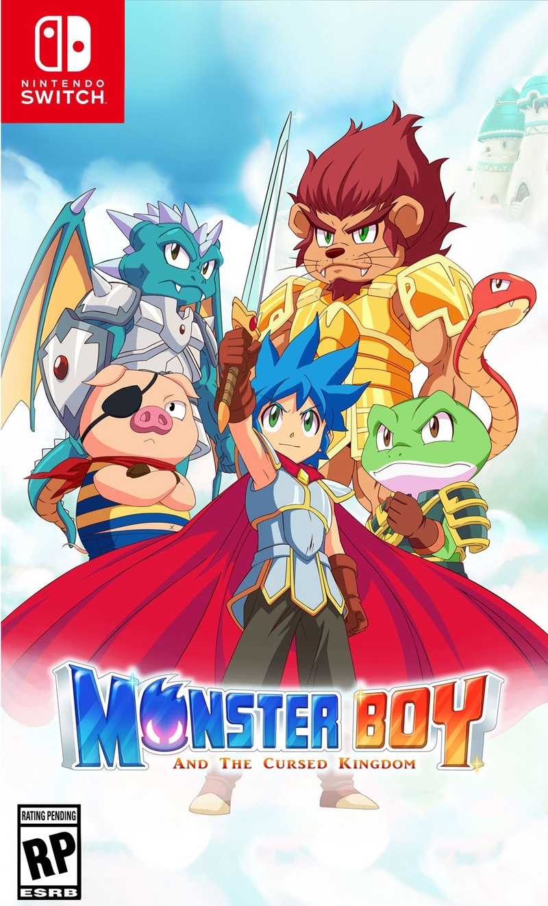 Monster Boy and the Cursed Kingdom (Switch)-thumb