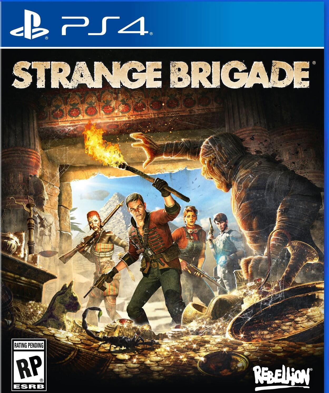 Strange Brigade (PS4)-thumb
