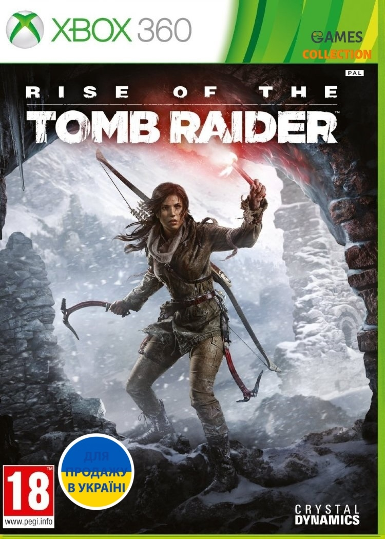 Rise of the Tomb Raider (XBOX 360)-thumb