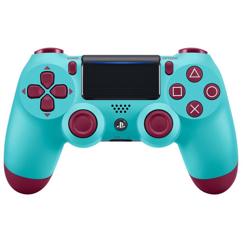 DualShock 4 Wireless Controller -Berry Blue-thumb