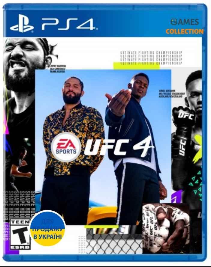 EA SPORTS UFC 4 (PS4) Б/У-thumb