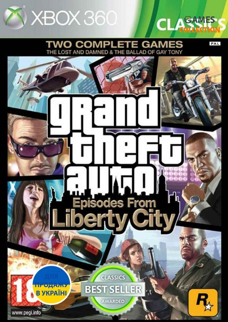 Grand Theft Auto: Episodes from Liberty City (XBOX360)-thumb