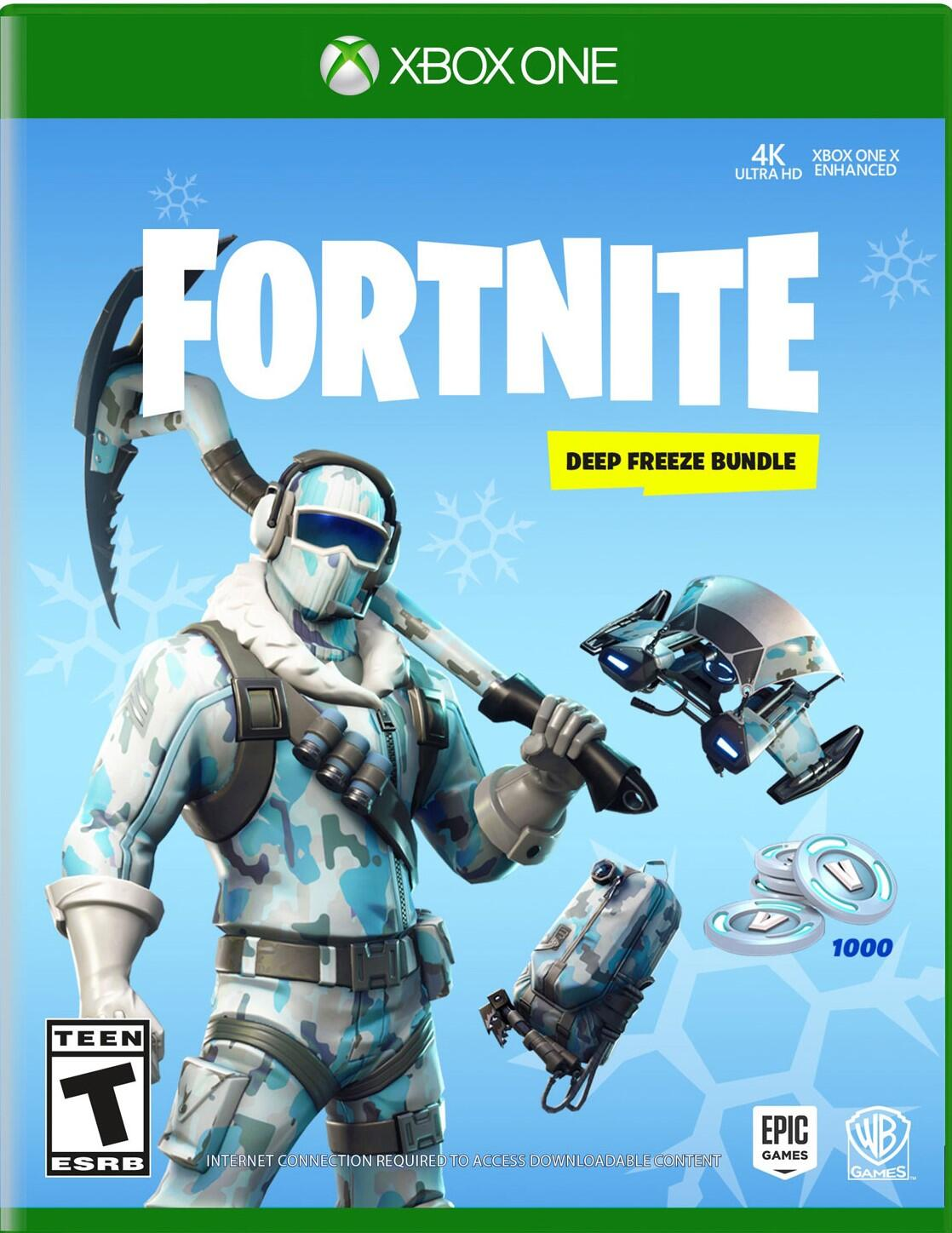 Fortnite: Deep Freeze Bundle (Xbox One)-thumb