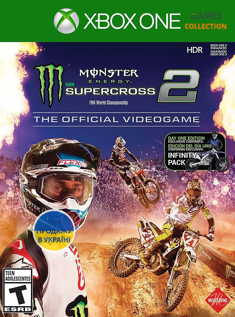 Monster Energy Supercross 2: The Official Videogame (Xbox One)-thumb