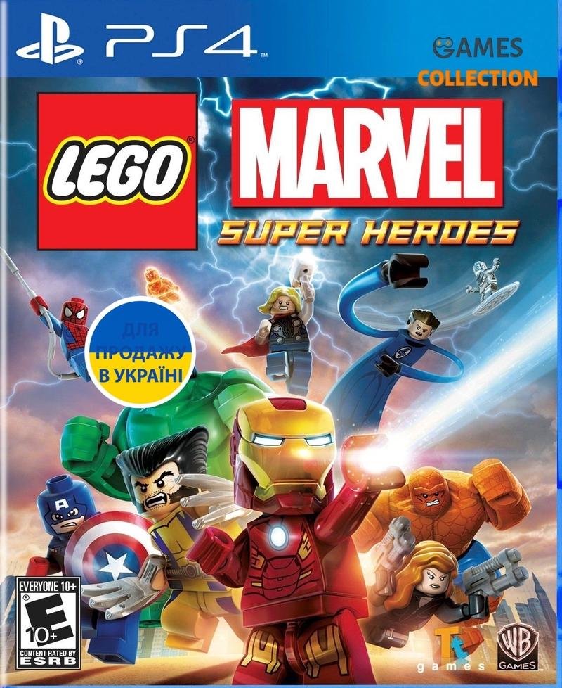 LEGO: Marvel Super Heroes (PS4)-thumb