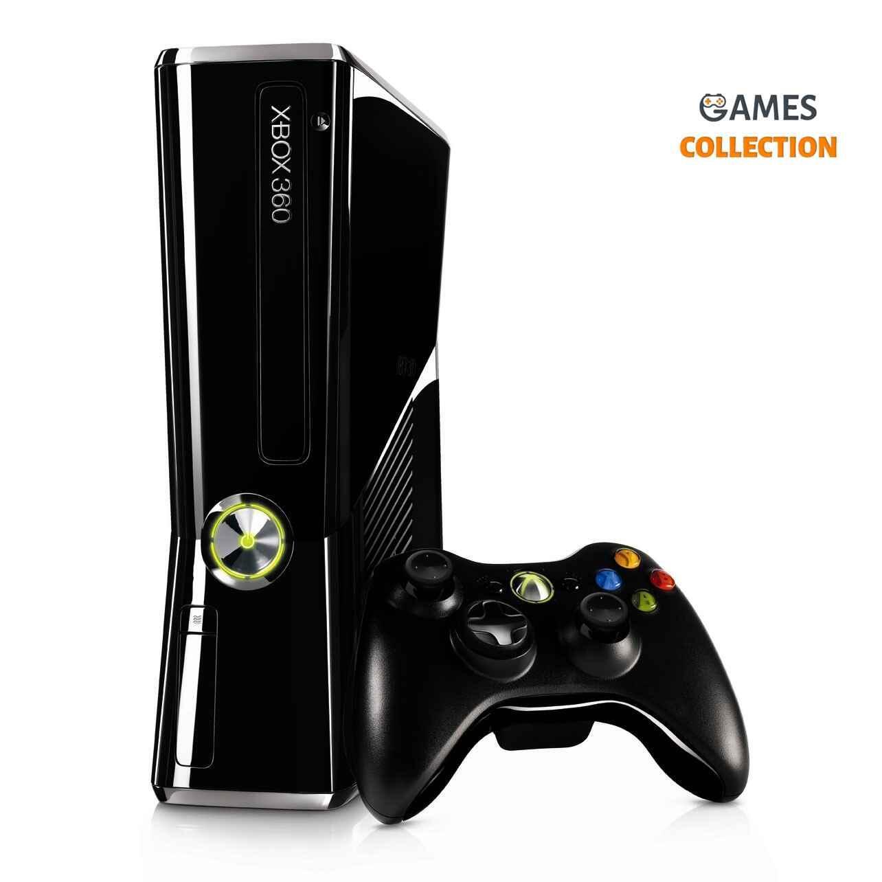 Xbox 360 Slim 500GB (Прошивка Freeboot) 100 лучших игр в комплекте-thumb