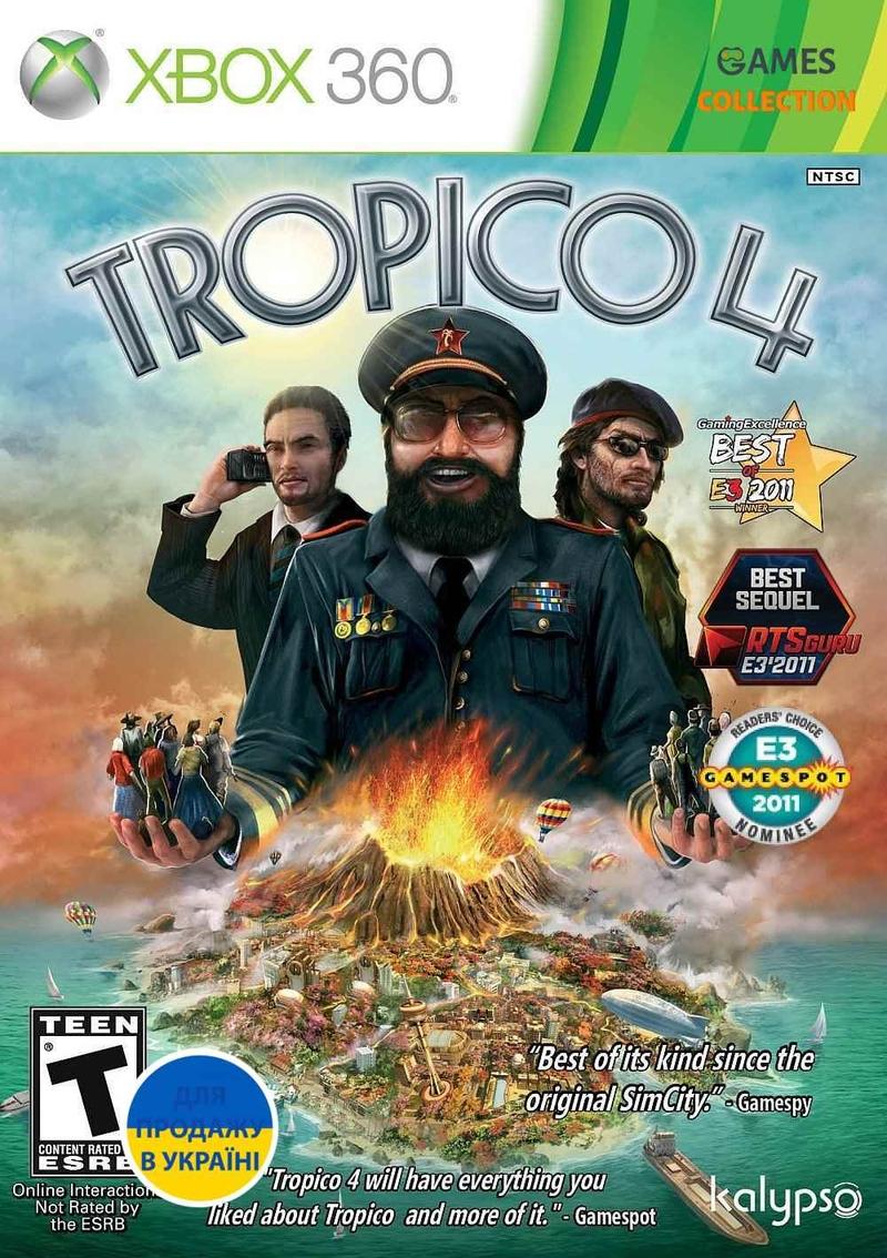 Тропико 4 (Xbox 360/Xbox One) Б/У-thumb