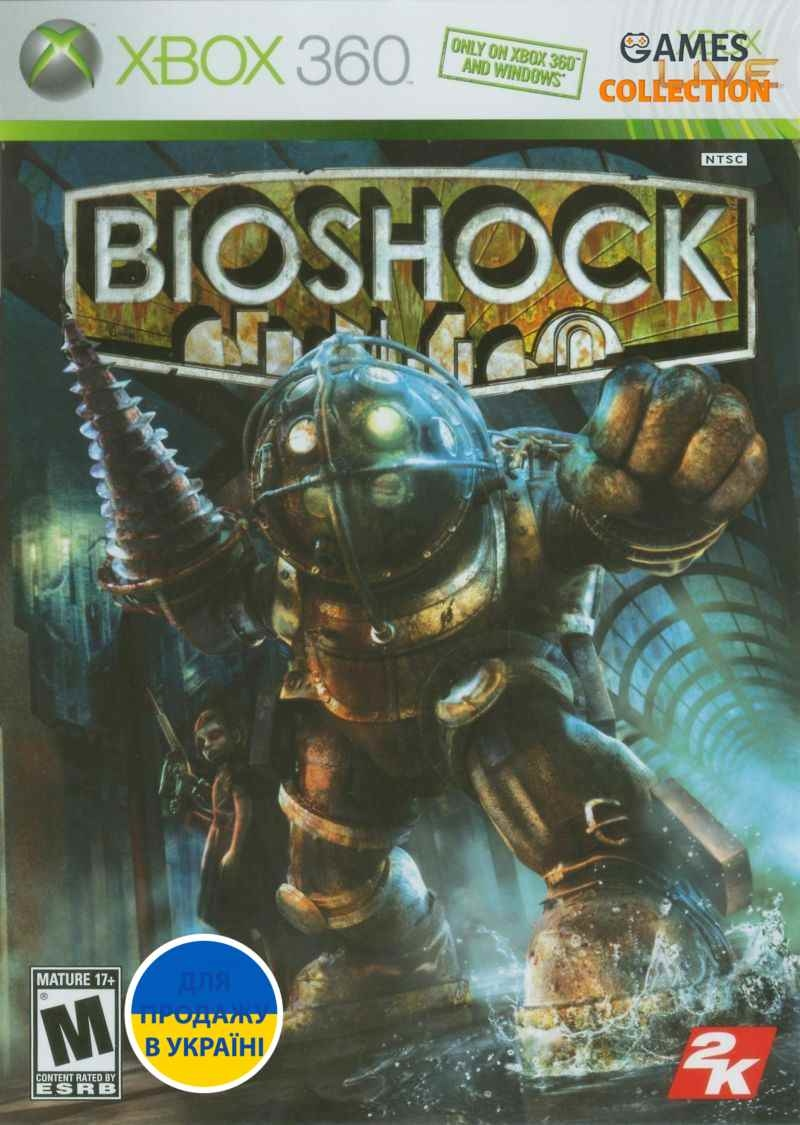 BioShock (XBox 360) Б/У Лицензионный-thumb