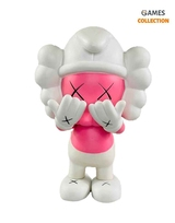 Kaws x The Smurf Companion Pink (21см)-thumb