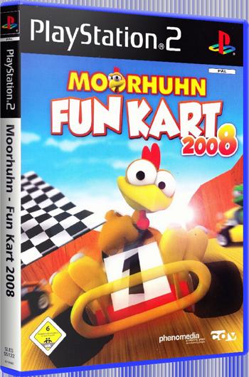 Moorhuhn Fun Kart 2008 (PS2)-thumb