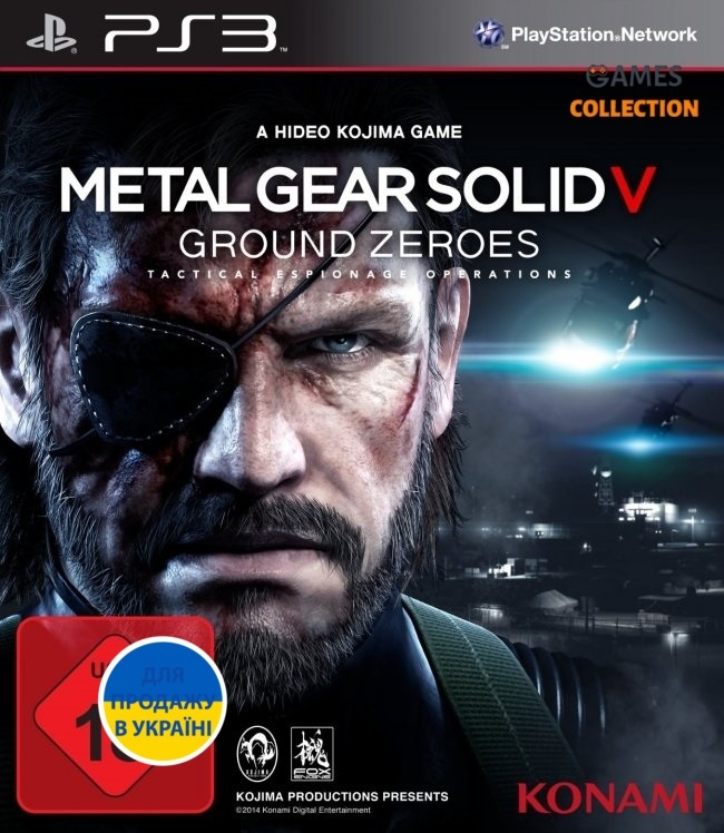 Metal Gear Solid 5: Ground Zeroes (PS3)-thumb