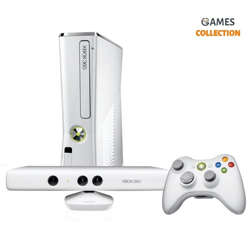 Xbox 360 Special Edition Белый 320GB (Freeboot) + Kinect + 40 игр-thumb