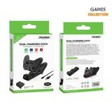 Двойная зарядная станция для джойстиков Xbox One/Xbox Series S/X-thumb