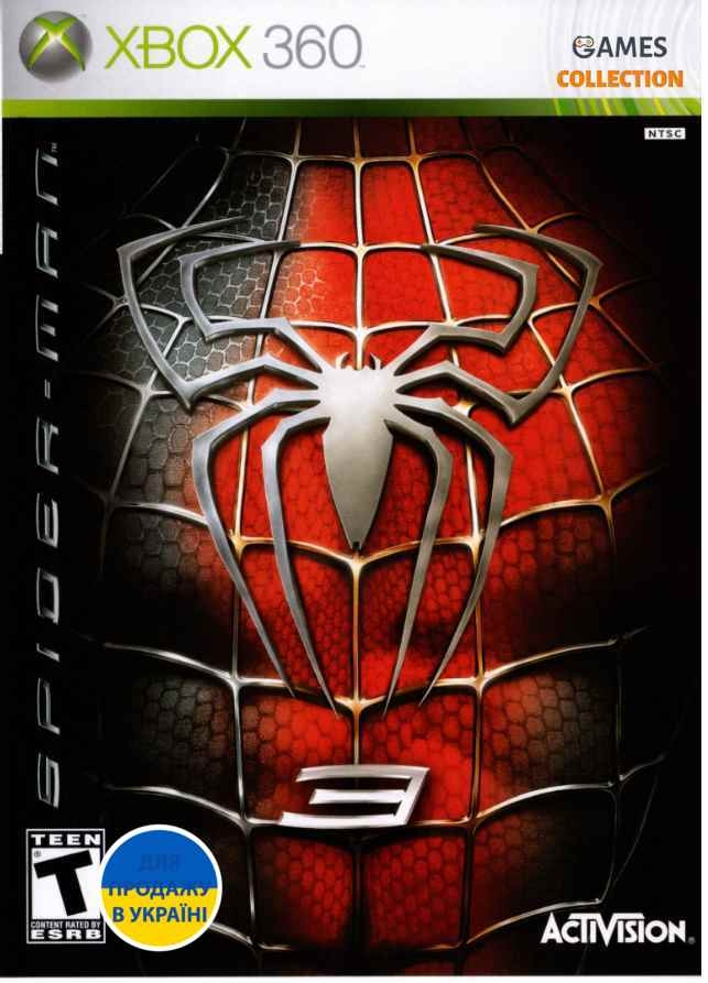 Spider-Man 3 (XBOX 360) Б/У-thumb