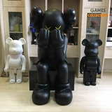 Kaws Passing Through 110 см Black-thumb