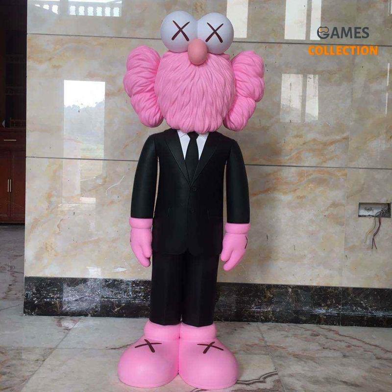 Kaws BFF Pink 130 см-thumb