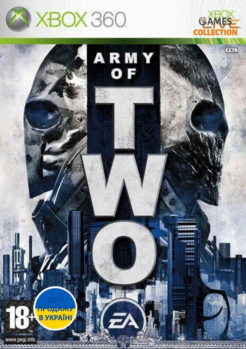 Army Of Two (XBOX360) Б/у-thumb