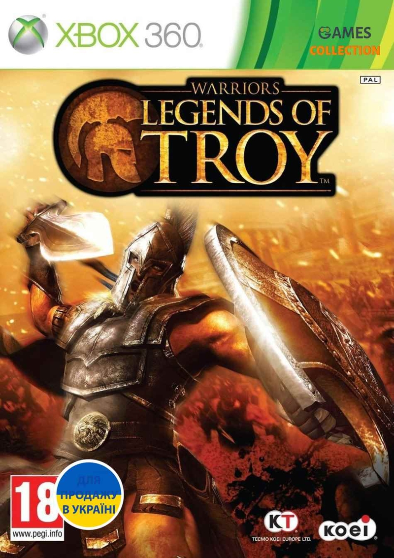 Warriors: Legends of Troy (XBOX360)-thumb