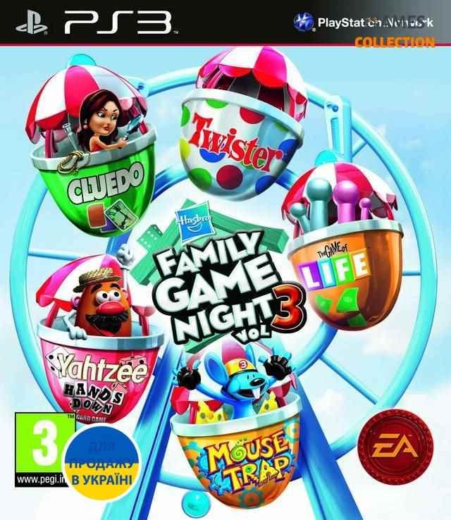 Hasbro Family Game Night 3 (PS3) Б/У-thumb