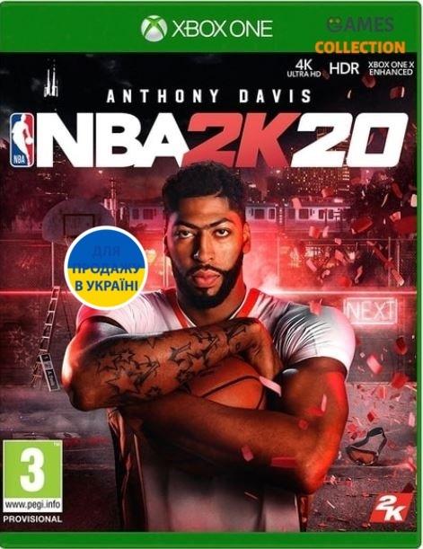 NBA 2K20 (XBox One) (Английская версия)-thumb