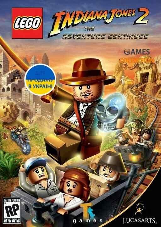 LEGO Indiana Jones 2: The Adventure Continues (PC) КЛЮЧ-thumb