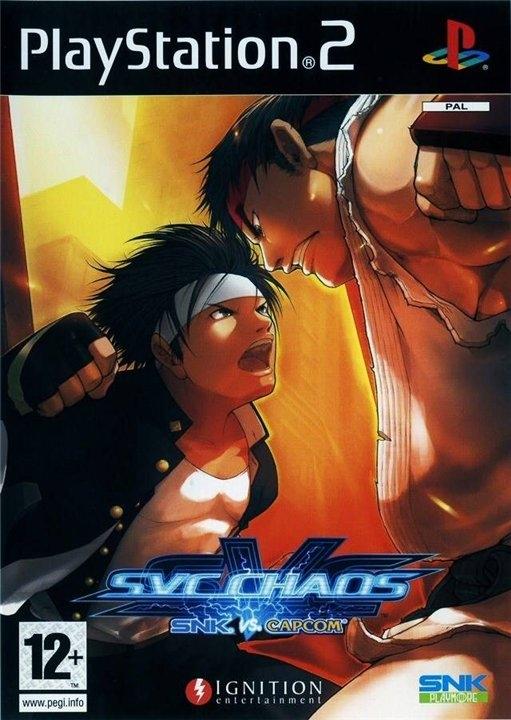 SVC Chaos: SNK vs. Capcom (PS2)-thumb