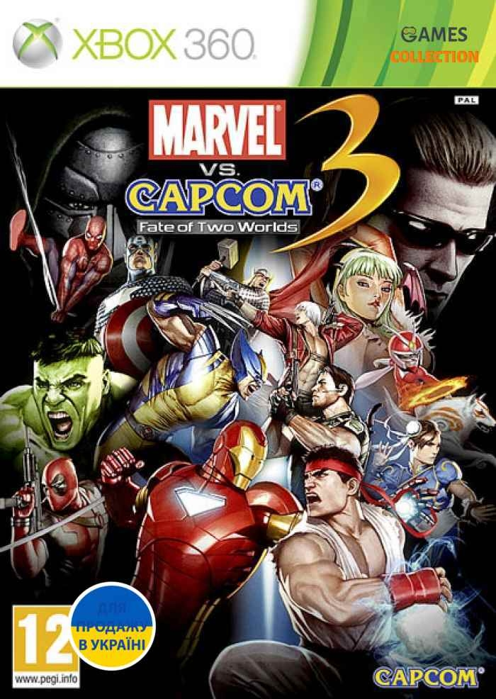 Marvel VS Capcom 3: Fate of Two Worlds (XBOX360)-thumb