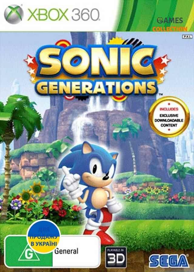 Sonic: Generations (XBOX360)-thumb