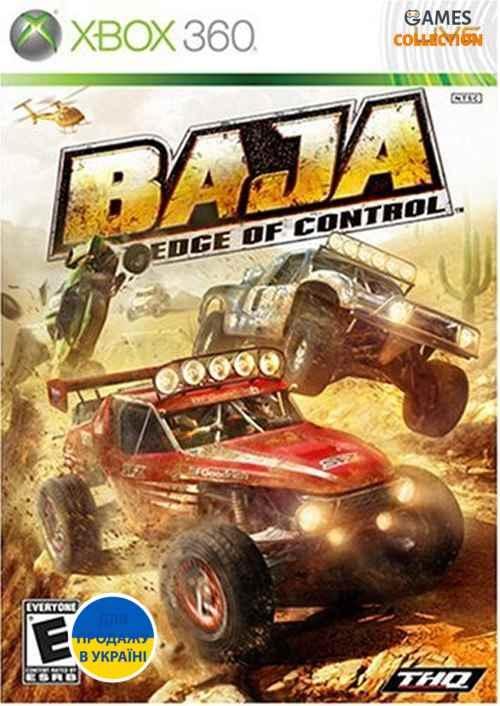 BAJA: Edge of Control (Xbox 360) Б/У-thumb