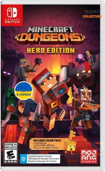 Minecraft Dungeons: Hero Edition (Switch)-thumb