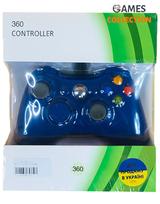 Проводной геймпад Xbox 360/Windows Джойстик (Синий)-thumb