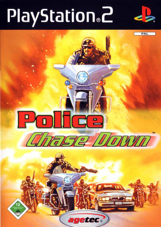 POLICE CHASE DOWN (PS2)-thumb