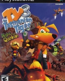 TY THE TASMANIAN TIGER 3: NIGHT OF THE QUINKAN (PS2)-thumb