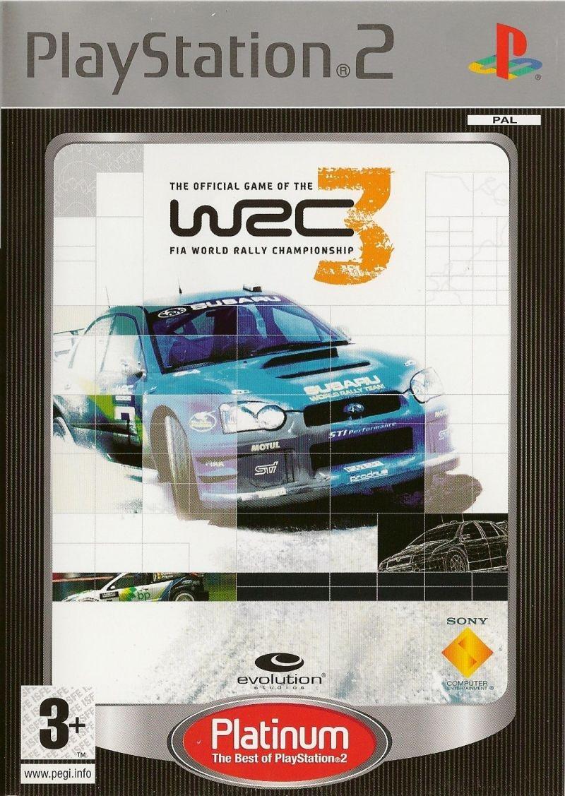 WRC 3: World Rally Championship 3 (PS2)-thumb
