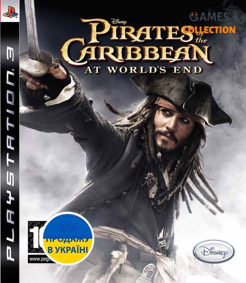 Пираты Карибского Моря: На краю света (PS3)-thumb