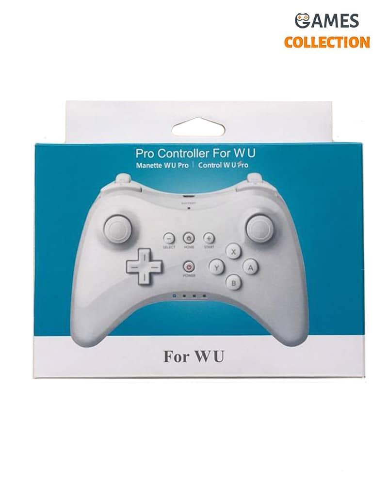 Контроллер Pro Controller для W U Bluetooth (Белый)-thumb