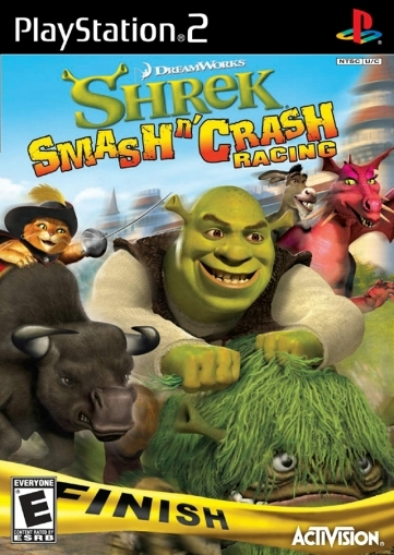 Shrek Smash n Crash Racing (PS2)-thumb
