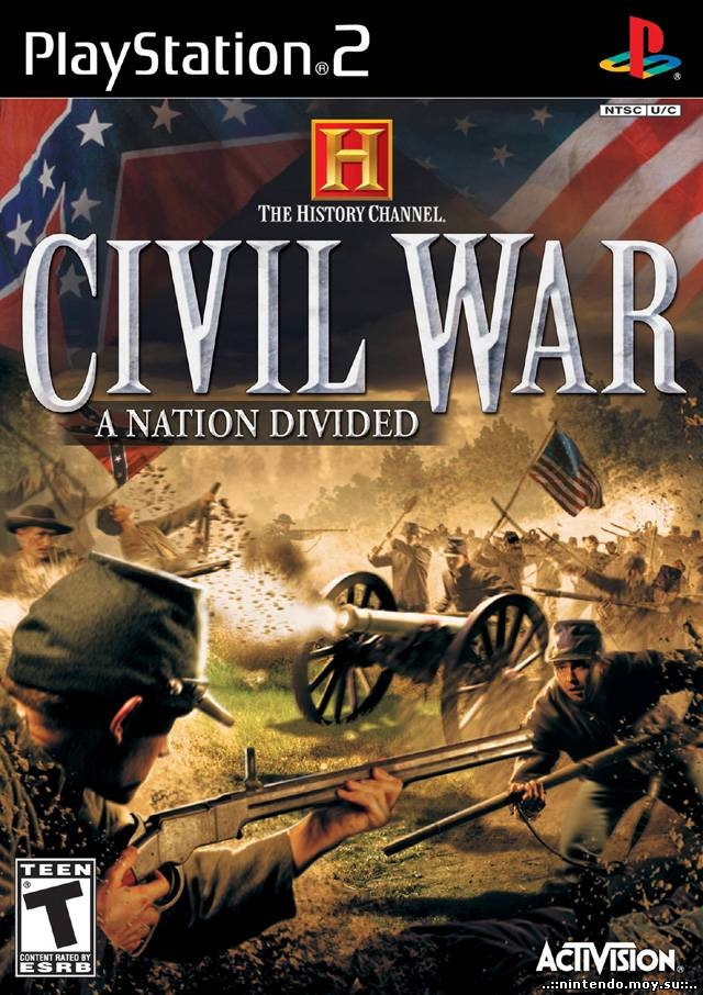 history channel – civil war-a nation divided (ps2)-thumb