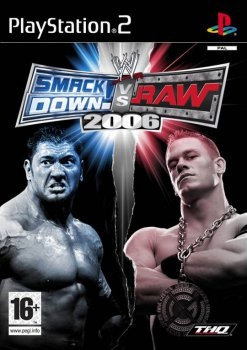 WWE SMACKDOWN VS RAW 2006 (PS2)-thumb