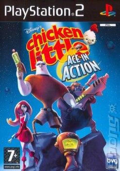 DISNEY'S CHICKEN LITTLE: ACE IN ACTION (PS2)-thumb